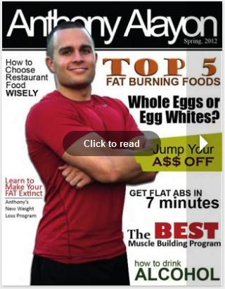 Anthony Alayon Spring Body Sculpting Magazine