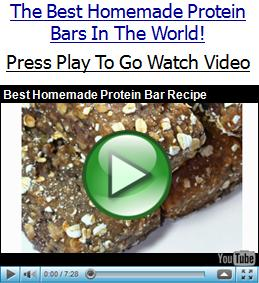 Homemade Bodybuilding Protein Bars