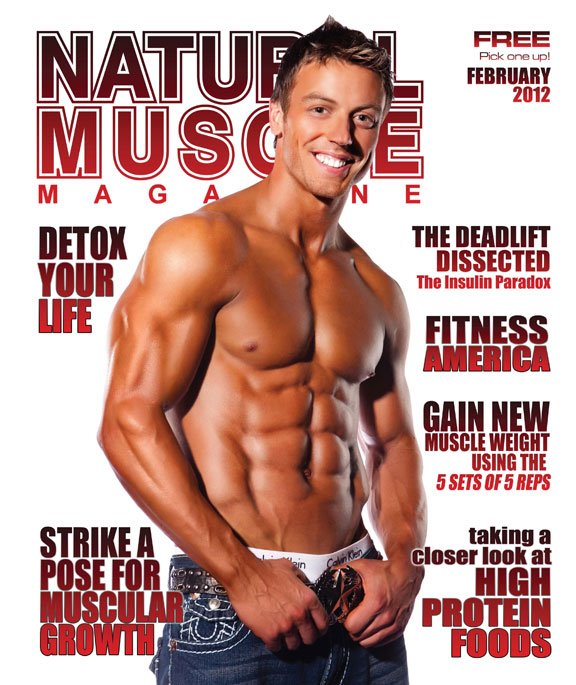 Natural Muscle Magazine Feb 2012