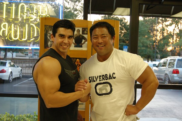 Hugo With His Good Friend (Big Bro) Bodybuilding Pre-Contest Coach Tim Gardner..The Architect Behind Hugo&#039;s Pre-Contest Physique!