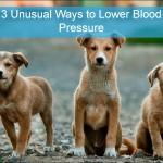 3 Unusual Ways to Lower Blood Pressure